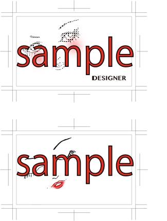 オリジナルデザイン名刺