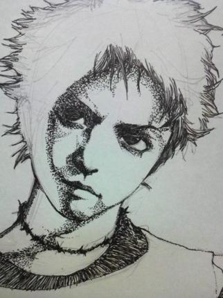 繊細でリアルな似顔絵イラスト作成します