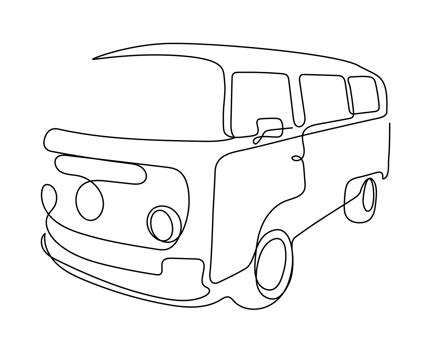 一筆書きによるミニマルでシンプルなロゴ作ります