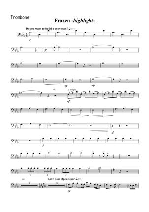 編曲いたします。例:オーケストラ楽曲→金管五重奏編成