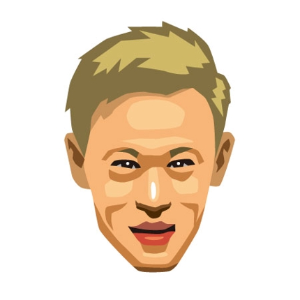 イラレで似顔絵を制作します