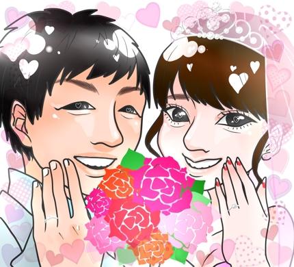 SNSのアイコンやプレゼントなどに☆似顔絵描きます!