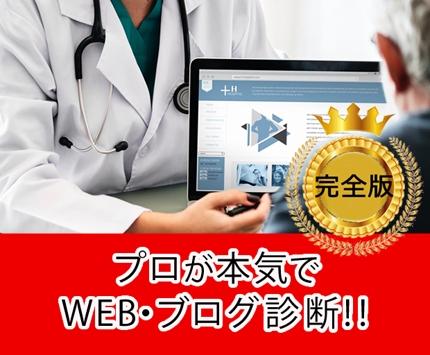 完全版★★★ WEBコンサルタントが本気でサイト診断します。