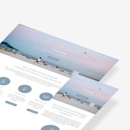 プロが作る最先端デザインのレスポンシブウェブサイト