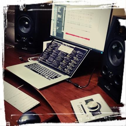 ボイスサンプルの整音、音響効果
