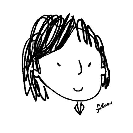 手描き風似顔絵イラスト