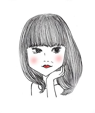 おしゃれな似顔絵アイコンお描きします!