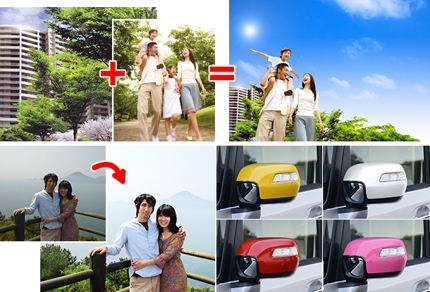 画像合成からレタッチ・各種加工まで、画像のことならおまかせください。