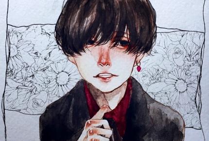 似顔絵、誕生日イラスト制作☆彡.。