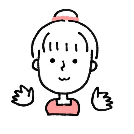 名刺やSNSアイコンに!シンプル可愛い似顔絵作成します。