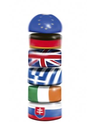EU だるま落とし