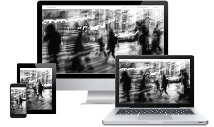 シンプルでクオリティの高いデザインを基調としたWEBサイトをWordPress