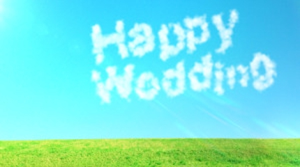 結婚式ムービー作成いたします