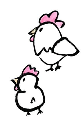 鶏イラスト