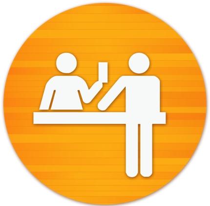 英文メール/メッセージ代行、外国人客の予約対応