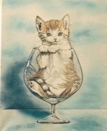パステル画にてペットの似顔絵を描きます!思い出を残したい方やプレゼントや記念に