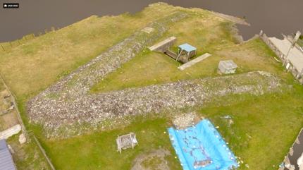 空撮スチル・映像&立体モデル作成承ります