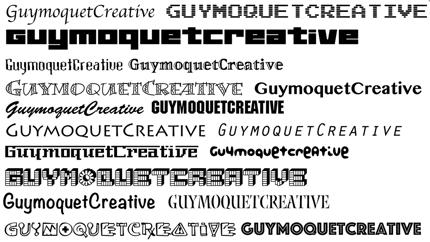 【ランサーズ限定】アートデレクターが英文フォントでロゴ&サービス名をDESIGNします