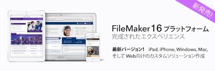 iPad, iPhoneで動作するカスタムAppをFileMakerで開発します!