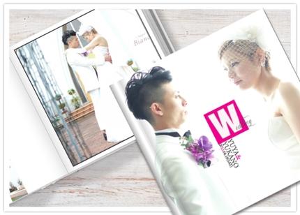 結婚式写真集・マガジン制作