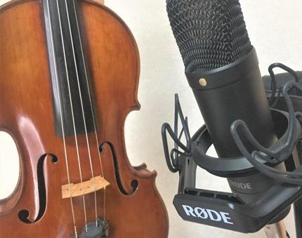 バイオリン演奏 録音します【試演無料】【リテイク可】