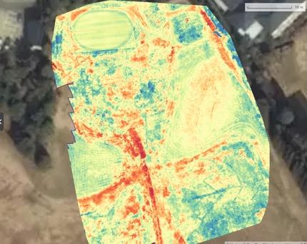 Pix4D+Sequoiaで植生スキャン(農地、芝など植生の活性度の視覚化)