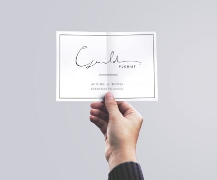 【世界にひとつ】書体デザイナーが綴る美しいロゴ制作