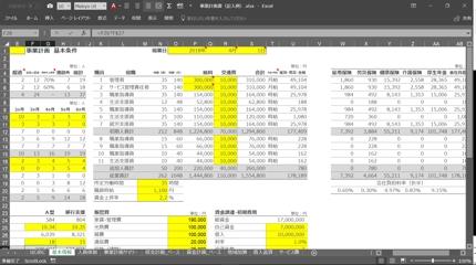 1000万円の融資を獲得した障害者就労支援事業に特化した収支・資金計画書