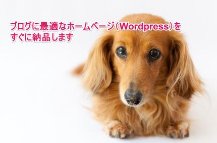 【今だけ】ブログに最適なホームページ(Wordpress)を格安ですぐ構築します