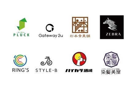 企業、個人、店舗のロゴマークをシンプルに作成いたします。