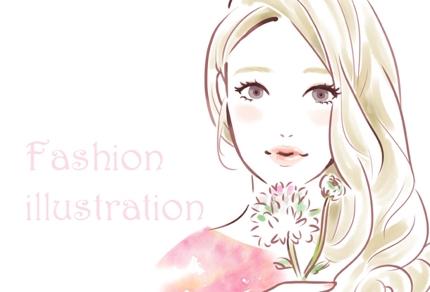 『ファッションイラスト』描きます!