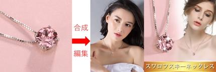 単純な商品画像からモデル着用の画像を作成