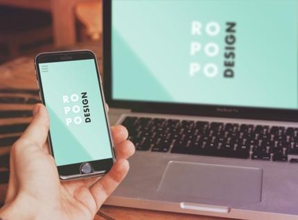 スマホ対応!レスポンシブWebサイトのTOPページのデザイン案をお作りします。