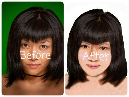 [数量限定で1000円から]あなたの素写真を編集して似顔絵アバター作ります