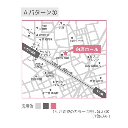 MAP 地図のデザイン