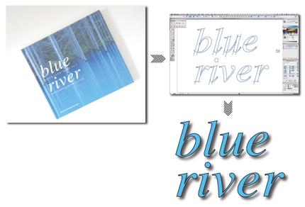 写真・印刷物・画像データをトレースしてアウトラインデータ作成