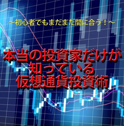 仮想通貨での投資法を教えます!!