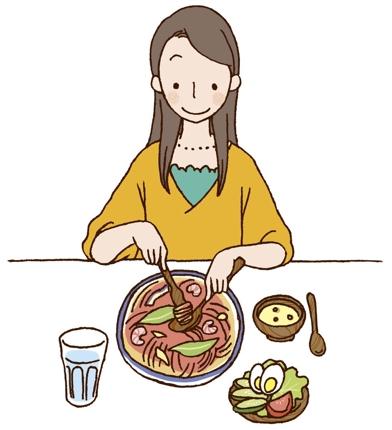 栄養士から食事アドバイス