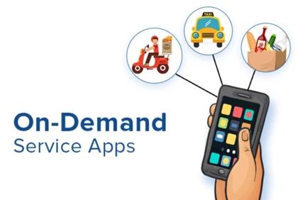 オンデマンドサービスアプリ、AndroidとiOS用