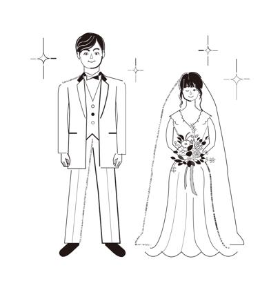 似顔絵イラストレーション制作