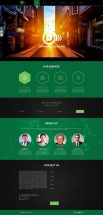 Webのホームページ