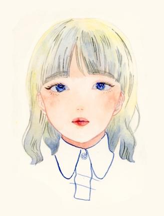 挿絵イラスト制作(水彩)