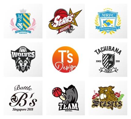 あなたのチームロゴを制作します。野球、サッカーなどなんでもご相談ください