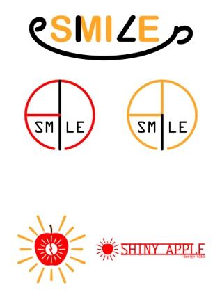 シンプルなロゴ作成します