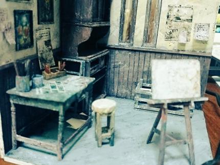 ミニチュア家具作成