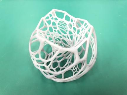 光造形 3Dプリント 積層跡の目立たない高精細な出力が可能です!