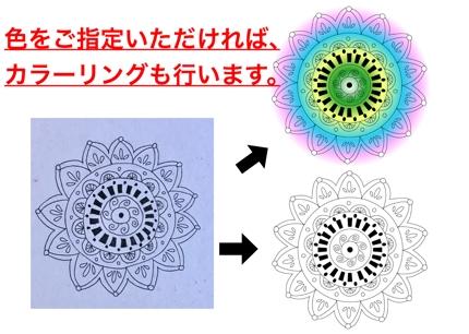 手描きや画像からロゴ・マークをトレース(illustratorデータに変換)します