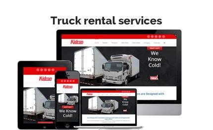 Truckレンタルサービスサイト