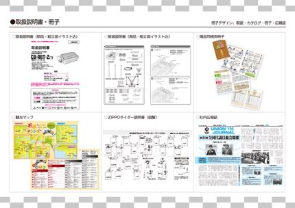 カタログ・パンフレット・取扱説明書・広報誌