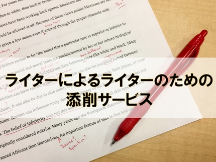 誤字脱字・読みやすさを徹底チェック!現役ライターによる記事の添削やアドバイス